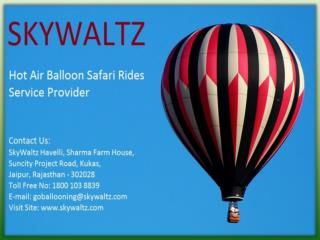 Skywaltz | Hot Air Balloon Ride In India