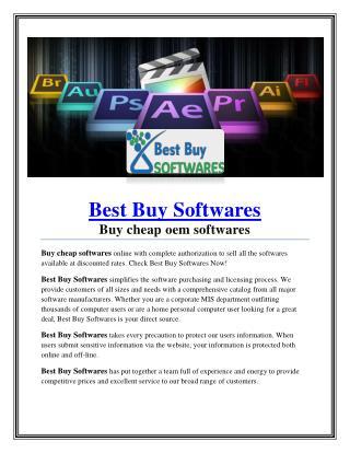 Best Buy Softwares
