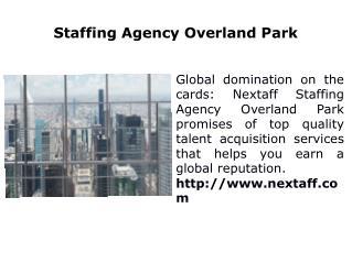 Staffing Agency Overland Park