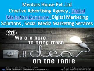 Digital Marketing Company In Delhi - Mentors House