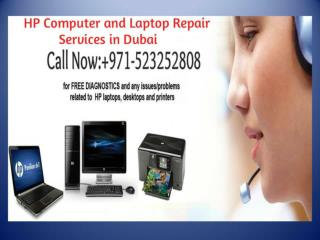Call: 971-523252808 for HP Laptop Repair Services in Dubai