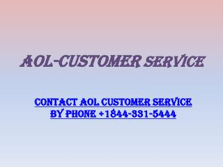 Aol Customer service |http://www.aol-customerservice.com/