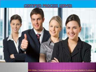 Certified process server - Process Server Express