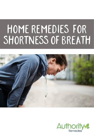 How to get over Shortness of Breath