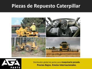 Importación de Repuestos para Maquinaria Caterpillar - AGA Parts