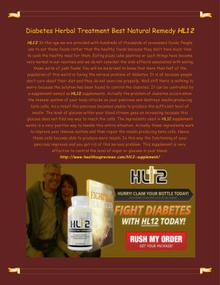 http://www.healthsupreviews.com/hl12-supplement/