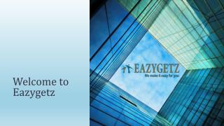 Eazygetz : Making your Shopping Experience Very Eazy and Unique