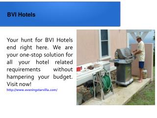 BVI Hotels