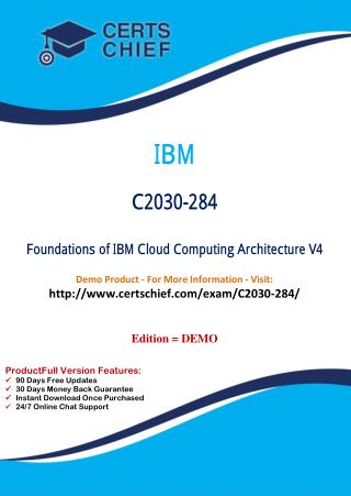 C2030-284 Certification Dumps with PDF Answers