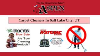 Carpet Cleaners In Salt Lake City, UT