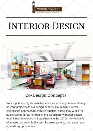 Confident With Wooden Street Interior Design
