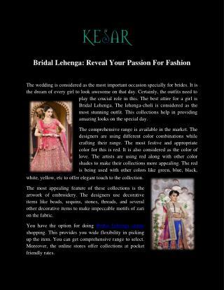 Buy Bridal Lehenga Online in UK.pdf