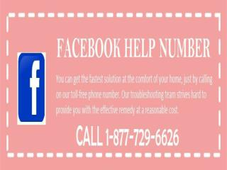 Call at  Facebook Phone Number 1-877-729-6626 team now at rescue