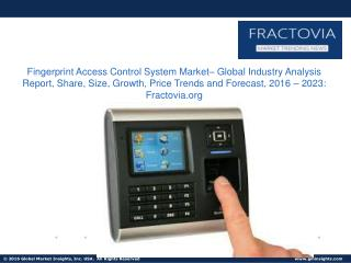 Fingerprint Access Control System Market share in Commercial applications accounted over 34% of the global