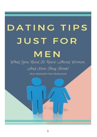 Dating Tips Just For Men