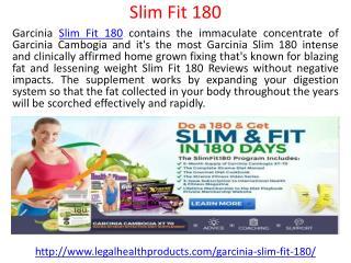 Slim Fit 180