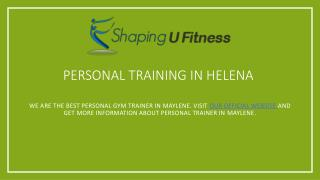 Personal Trainer Bham