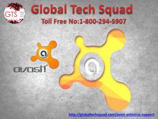 Avast Antivirus Support toll free no.1-800-294-5907