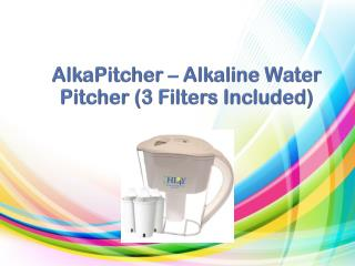 Alkaline water system - Improve taste of your water