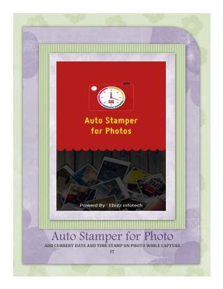 Auto Stamper for Photo