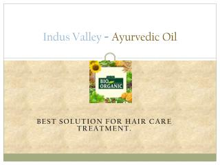 Pure Ayurvedic Oil For Hair Fall Treatment Online