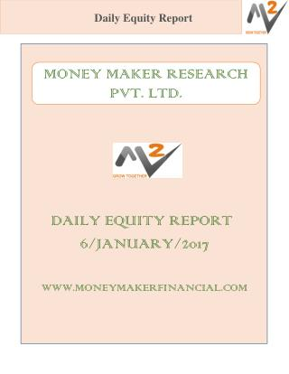 DAILY EQUITY REPORT 6/JANUARY/2017