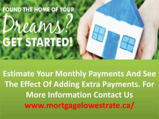 Lowest Canadian Mortgage Rates In Mississauga