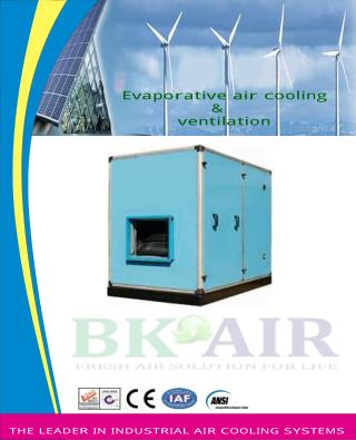 Air Washers manufacturer & supplier in India