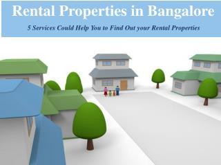 Rental Properties in Bangalore | Rent4free.com