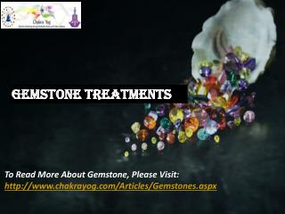 Gemstone | Gems Benefits | Gemstone Powers - Chakrayog