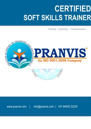 SOFT SKILLS TRAINER CERTIFICATION PROGRAM