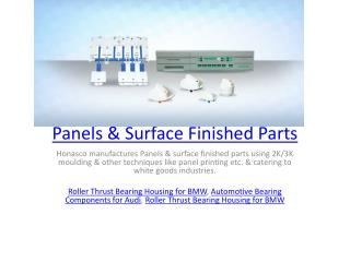Panels & Surface Finished Parts