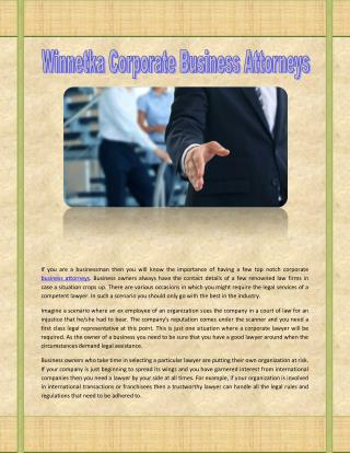 Lake Forest Corporate Business Attorneys