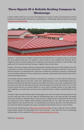 Markham roofing company promoting