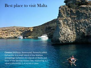 Best place visit in Malta with Kingdom of rentals Book now