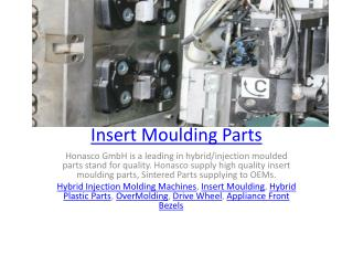 Insert Moulding Parts