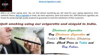 Best Electronic Cigarette - Eon