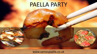 Paella party