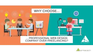 Why You Should Choose Professional Web Design Company Over Freelancing
