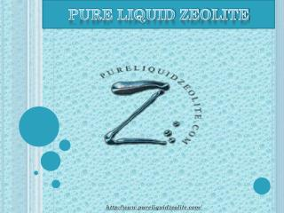 Natural Cellular Defense Liquid Zeolite
