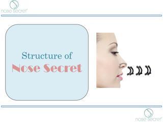 Nose Lifting Clip - Structure of Nose Secret