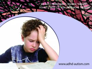 Neuroliminal therapy slowly improves autism problems
