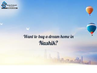Want to buy a dream home in Nashik