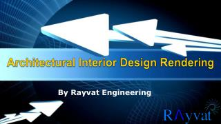 Architectural Interior Design Rendering