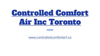Controlled Comfort Air Inc Toronto