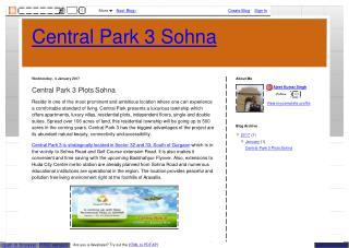 central park 3 price list