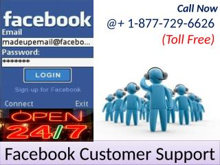 Quick at home Dialing Facebook Customer Support Number  1-877-729-6626 Toll Free