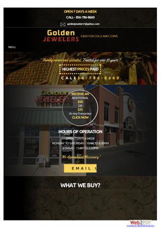 Gold Buyers Mt Laurel NJ