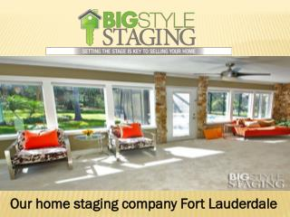 Our best vacant home staging