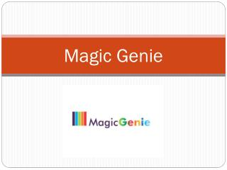 Cleaning Services -Magic Genie